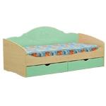 Интернет-магазин мебели - Кровать Софа-4 Клен+Эвкалипт