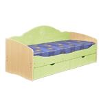 Интернет-магазин мебели - Кровать Софа-5 Клен+Эвкалипт
