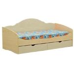 Интернет-магазин мебели - Кровать Софа-4 Клен