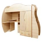 Интернет-магазин мебели - Детская Дельфин-3 Клен