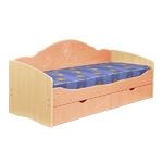 Интернет-магазин мебели - Кровать Софа-5 Клен+Персиковый