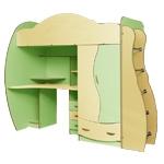 Интернет-магазин мебели - Детская Дельфин-4 Клен+Ваниль+Эвкалипт