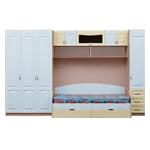 Интернет-магазин мебели - Детская Мальвина Клен+Ваниль+Голубой
