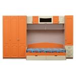 Интернет-магазин мебели - Детская Мальвина Клен+Ваниль+Оранжевый