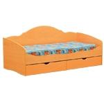 Интернет-магазин мебели - Кровать Софа-4 Вишня оксфорд