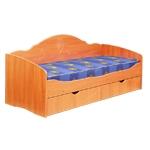 Интернет-магазин мебели - Кровать Софа-5 Вишня оксфорд